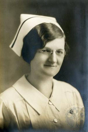 Image: ste001011010 - Mary Mannix. St. Elizabeth Hospital of Nursing Graduate 1931.