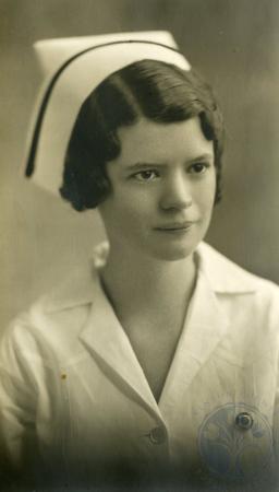 Image: ste001026004 - St. Elizabeth Hospital Nursing Class of 1933. Etta Broderick.