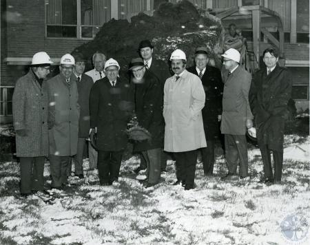 Image: ste001049001 - Groundbreaking for the Southwing