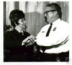 di05766 - Mrs. Joan Volpehhein, Chief Edward Gugel