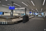 di128356 - Empty baggage claim carousels at the Greater ...