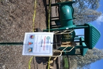 di128371 - Caution tape surrounds play equipment at ...