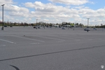 di128416 - Nearly empty parking lot at CVG