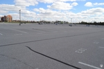 di128418 - Nearly empty parking lot at CVG