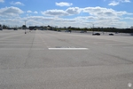 di128421 - Nearly empty parking lot at CVG