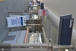 di128424 - Delta Air Lines terminal with coronavirus ...