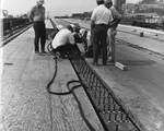 di128437 - Field welding, I-471 bridge project. Photo ...