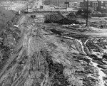 di128550 - Roadway work on Riverside Drive, looking ...