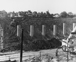 di128564 - Looking Southwest, I-471 bridge project.