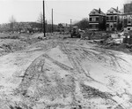 di128573 - Service Rd. #3, looking from Third Street, ...