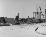 di128629 - Removing Pier 2, Northbound expansion dam, ...