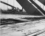 di128634 - Deck at Pier 9 Northbound, I-471 bridge project