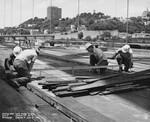 di128653 - Grading deck, span 8 Northbound, I-471 bridge ...