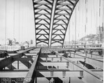 di128674 - Looking North at Southbound arch, I-471 bridge ...