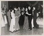 di140154 - Photo at a school dance,  including Nancy ...