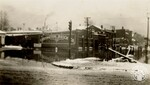 di141010 - Scott St and 6th St during the 1937 flood. ...