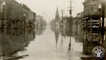 di141011 - 7th and Scott Streets during the 1937 flood.