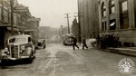 di141027 - E. 6th St - Bank - during flood of 1937. ...