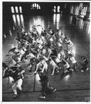 di15053 - Break dancing class at Ft. Thomas Armory