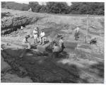 di17360 - scientists excavate findings at park