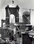 di44964 - bridge with rising RiverCenter in background, ...