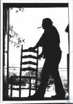 di61818 - Mike Webester (39) refinishing ladderback ...