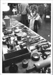 di62065 - Cindy Troy (8) looks at antique kitchen ware ...