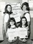 di68459 - L-R: (front) Kathy Winchester, Mary Lee Herrmann; ...