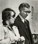 di95294 - Unidentified woman and Lee Hull of Master ...