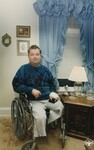 di95325 - Berry Jennings, handicapped by diabetes. ...