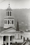 di95707 - Steeples on the Mason County Courthouse and ...