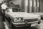 di95778 - Capt. Art Heeger with murder car
