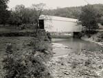 di97105 - White Covered Bridge over Locust Creek near ...