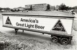 di97182 - A Blatz Beer trailer that is parked in the ...