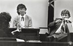 di99071 - Lonna Kingsbury, court reporter in middle. ...