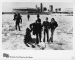kcpl046081004 - Kids playing on frozen over Ohio River - ...